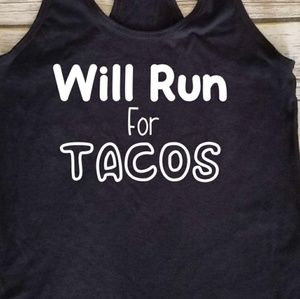 Run For Tacos / fitness / running / gym / workout